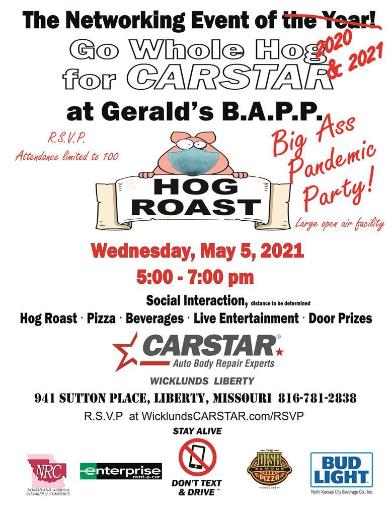 rsvp spring event CARSTAR